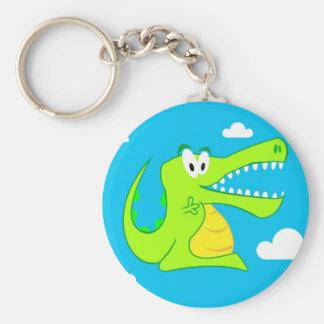 Happy Crocodile KeyChain