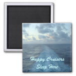 Happy Cruisers Door Marker Magnet Refrigerator Magnet
