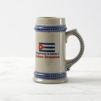 Happy Cuban Grandma Beer Stein