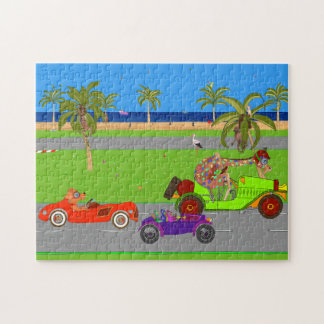 Happy Cup Race Day Jigsaw Puzzle
