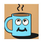 Happy Cup Stretched Canvas Prints