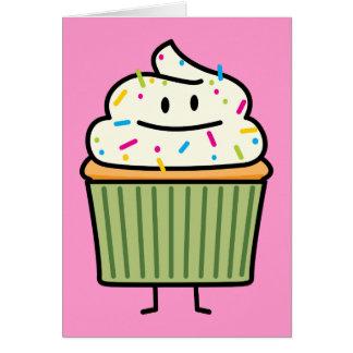 Happy Cupcake Card