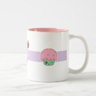 Happy Cupcake Mug Purple