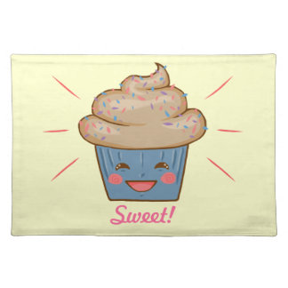Happy Cupcake Placemat