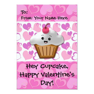 Happy Cupcake Valentine Card