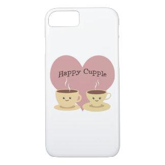 Happy Cupple! Cute Coffee iPhone 7 Case