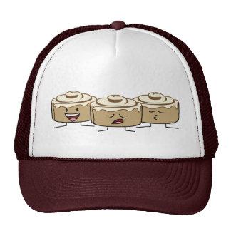Happy Cute Smiling Cinnamon Rolls Trucker Hat