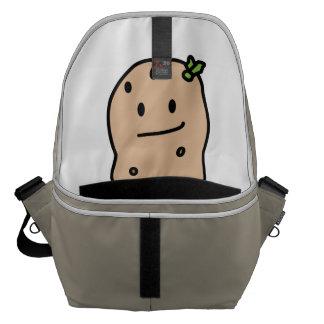 Happy Cute Smiling Potato Courier Bag
