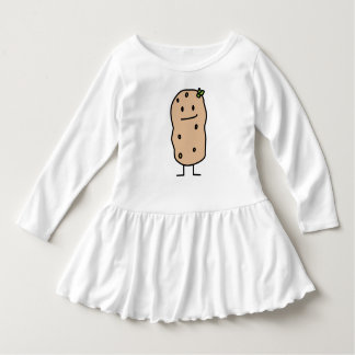 Happy Cute Smiling Potato Dress
