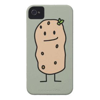 Happy Cute Smiling Potato iPhone 4 Case