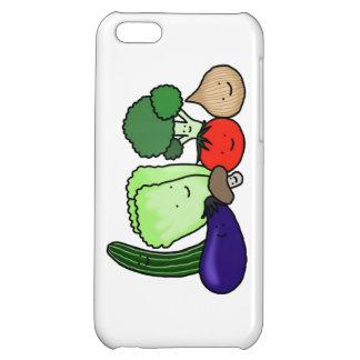 Happy Cute Vegetables iPhone Case Vegetarian Pride iPhone 5C Cover