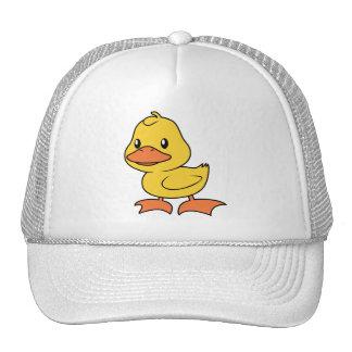 Happy Cute Yellow Duckling Hat