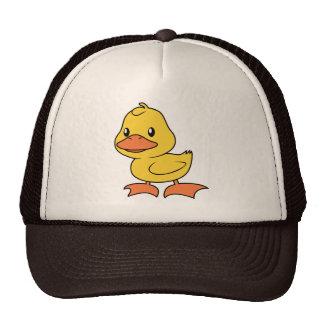 Happy Cute Yellow Duckling Mesh Hat