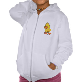 Happy Cute Yellow Duckling Pullover