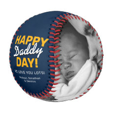 Happy Daddy Day | Father's Day Gift Baseball