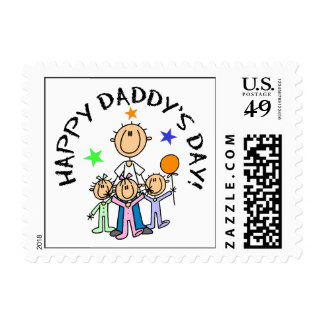 Happy Daddy's Day Postage Stamp