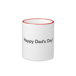 Happy Dad's Day mug
