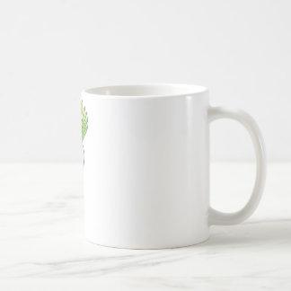 Happy Daikon Smiling Coffee Mug