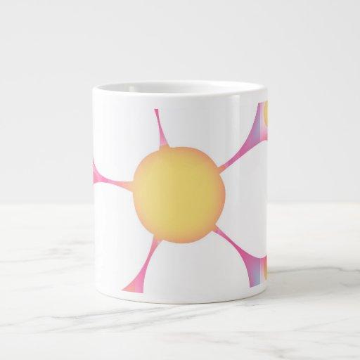 Happy Daisy 20 Oz Large Ceramic Coffee Mug