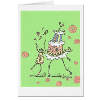 Happy Dance Birthday Card