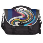 Happy Dance - Stained Glass Waves Bags For Laptop