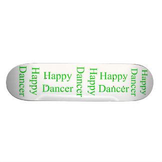 Happy Dancer green Skate Board Decks