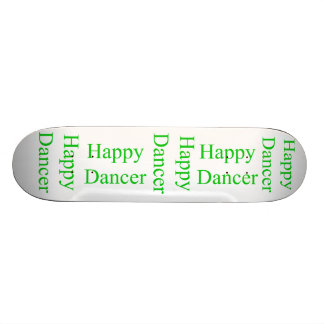 Happy Dancer green Skateboard Deck