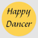 Happy Dancer txt sticker