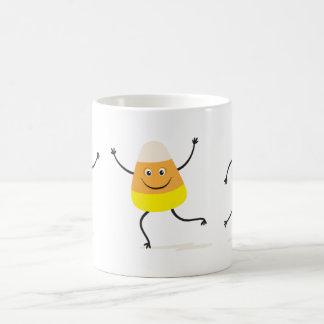 Happy dancing candy corn coffee mug