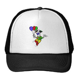 Happy Dancing Clown & Balloons Trucker Hat