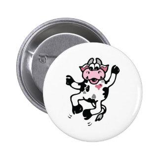 Happy Dancing Cow Pins