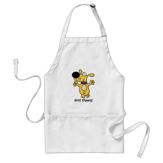 Happy Dancing Doggy Adult Apron