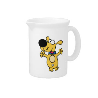 Happy Dancing Doggy Beverage Pitcher