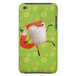 Happy Dancing Fox iPod Case-Mate Case