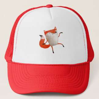 Happy Dancing Fox Trucker Hat