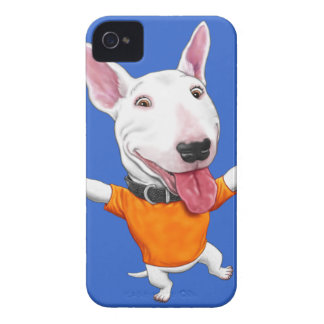 Happy Dancing Puppy iPhone 4 Case