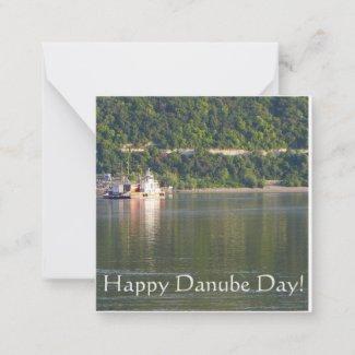 Happy Danube Day! Note Card