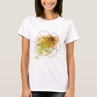 Happy day abstract green .JPEG T-Shirt