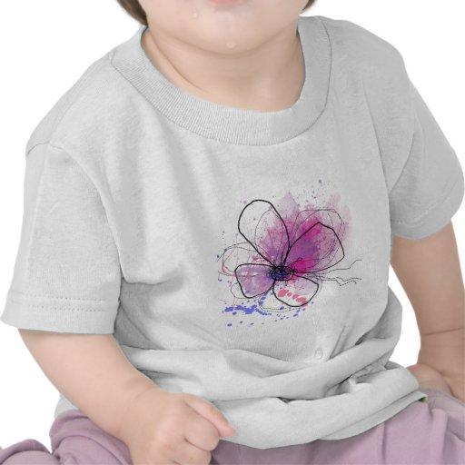 Happy day abstract purple.JPEG Tshirt