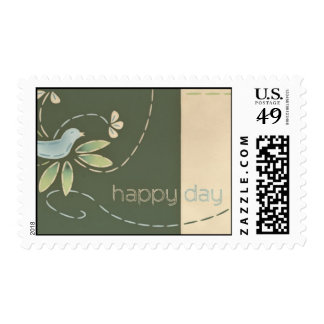 Happy Day Bluebird Postage