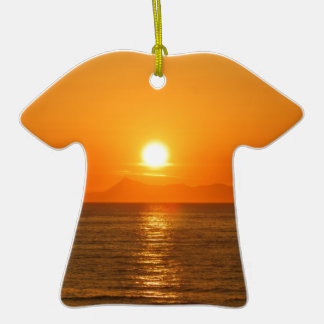 HAPPY DAY CRETE Double-Sided T-Shirt CERAMIC CHRISTMAS ORNAMENT