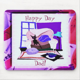 Happy Day Dad Mousepad