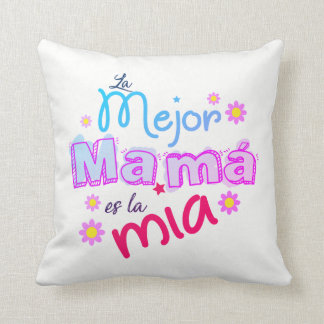 HAPPY DAY MOTHER THROW PILLOW