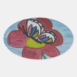 Happy Day! Oval Sticker
