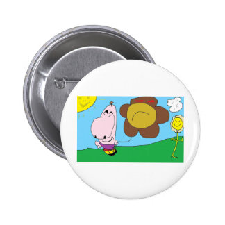 Happy Day Pinback Buttons