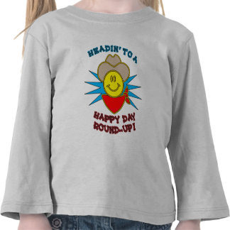 Happy Day Round-Up Toddler Long Sleeve Tshirts