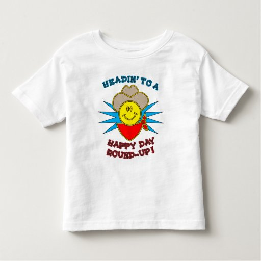 Happy Day Round-Up Toddler T-Shirt