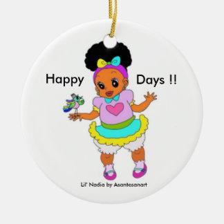 Happy Days Ornament