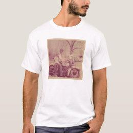 """Happy Days"" white T-shirt"