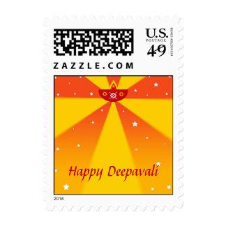 Happy Deepavali - Postage